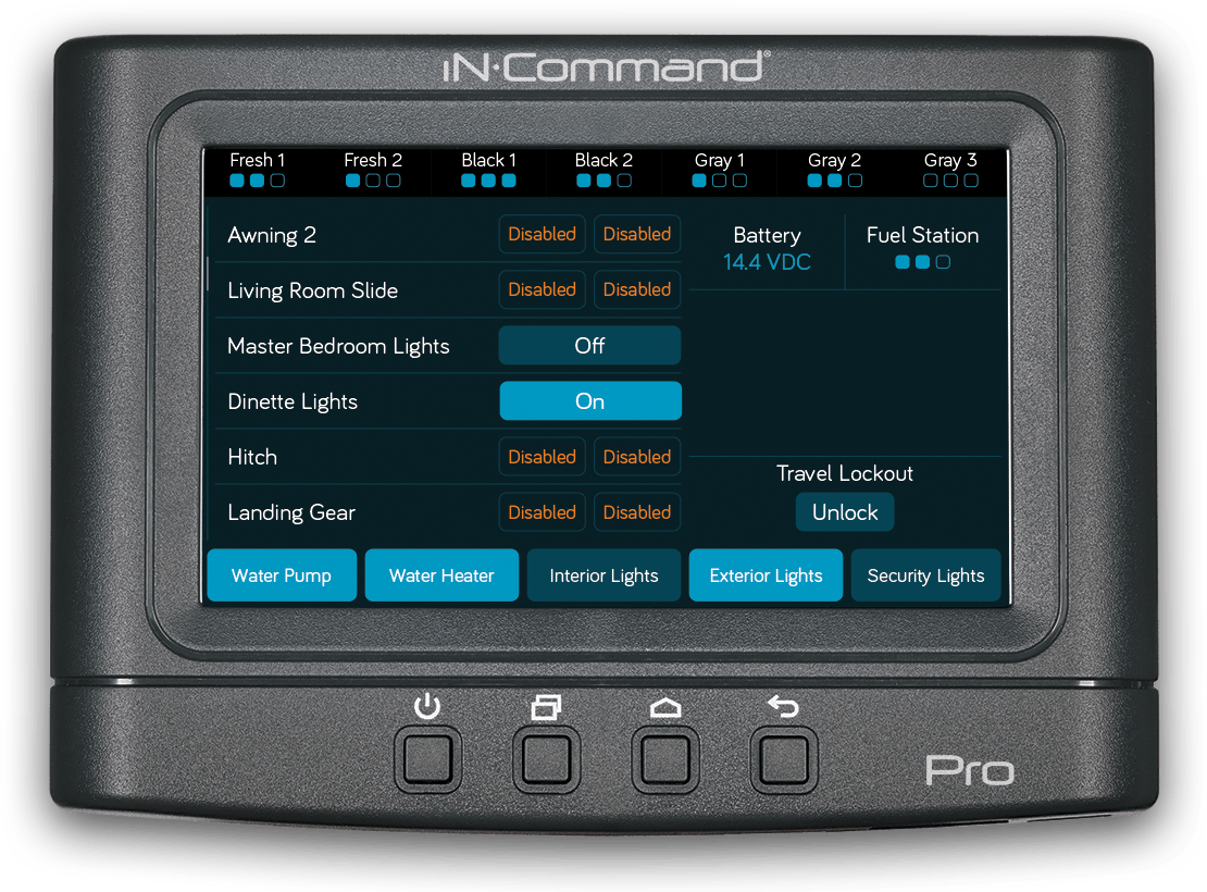iN-Command Control Systems - Pro
